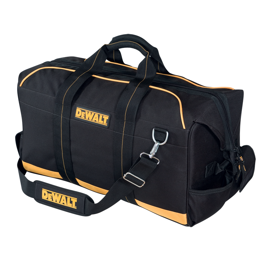 Dewalt Electrical Maintenance Tool Bag Guide And Troubleshooting Husky 800 Wiring Diagram 24 Quot Pro Contractor S Gear Dewaltworkgear Com De Walt With Wheels Bags Heavy Duty