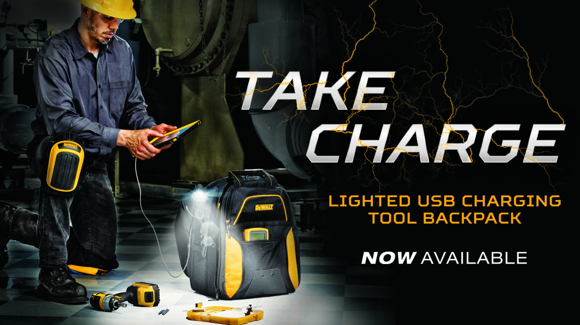"Dewalt ""Take Charge"" Banner"